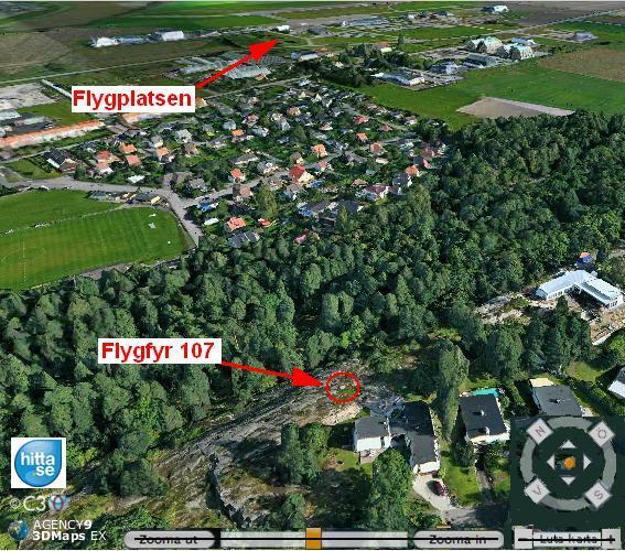 Flygfyr 107 Smedby Norrkoping Bo Justusson
