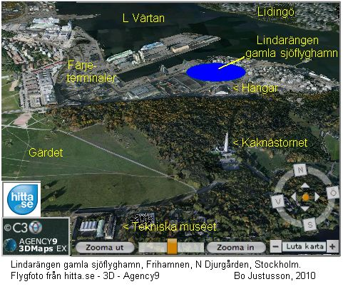 Postflyg Stockholm Helsingfors Bo Justusson