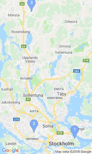 Karta Bromma Arlanda.Flygplatser Stockholm Helsingfors Bo Justusson