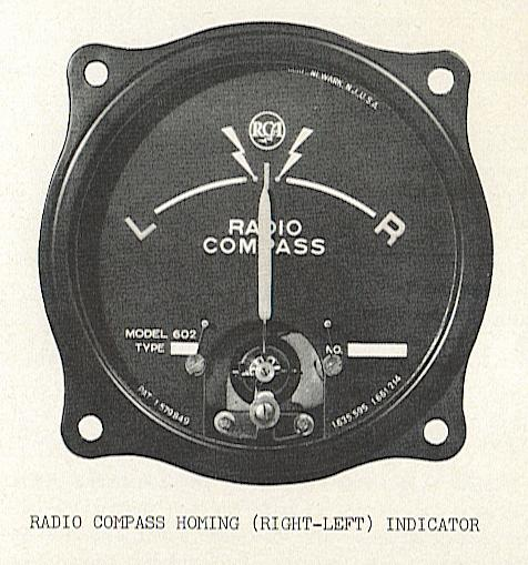 Radio compass instrument